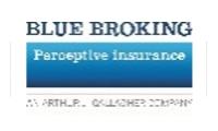 Blue broking logo