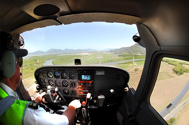 Pilot in cairns